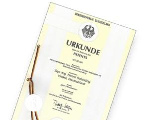 Patent für höhenverstellbare Tische der COMO Büromöbel GmbH