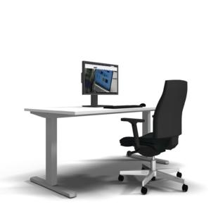 elektrisch höhenverstellbarer Schreibtisch objektVARIO